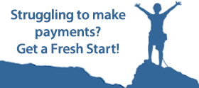 Struggling to make payments? Get a fresh start